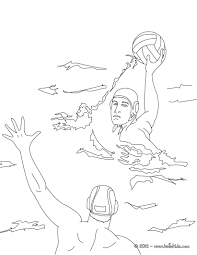 Small Picture Water polo sport coloring pages Hellokidscom
