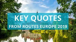 Video Key Quotes From Routes Europe 2019 Routesonline