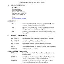 Nursing Resume Format Philippines Practical Nurse Sample Canada