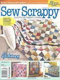 Sew Scrappy Better Homes & Gardens Quilt Magazine Vol One - Crafts ... & sew scrappy better homes gardens quilt magazine vol one Adamdwight.com