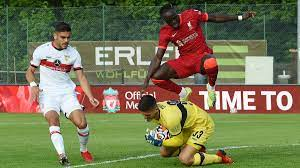 Remis in 30-minütigem Spiel gegen den FC Liverpool: VfB Stuttgart überzeugt  im Test-Turnier - Eurosport