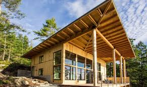 modern cabin design. Simple Cabin Photo Courtesy Of Johnston Architects On Modern Cabin Design N