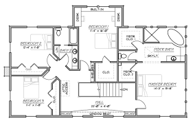 farmhouse style house plan 5 beds 3 00 baths 3006 sq ft plan 485 1
