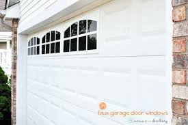 garage door window kits windows faux windows for garage doors inspiration fake garage door garage door