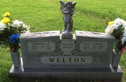 Ines Emery Welton (1914-1997) - Find A Grave Memorial