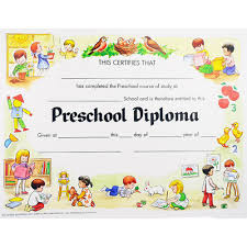 preschool diploma certificate gse bookbinder co preschool diploma
