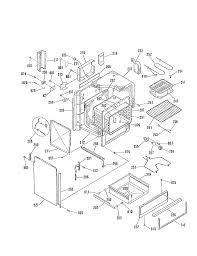 general electric jsp28gp range timer stove clocks and appliance jsp28gp range oven body insulation top and sides parts diagram