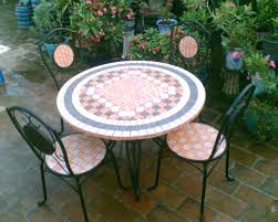 mosaic patio furniture clearance regarding decorations 7 tables and chairs