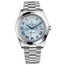 rolex day date ii blue dial platinum case automatic mens watch prev