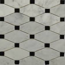 tile flooring bedroom. Diapson White Carrera With Black Dot Polished Marble Tile - 3 In. X 6 In Flooring Bedroom O