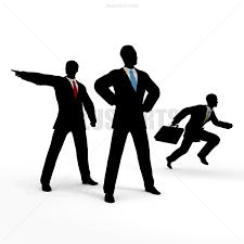 企業戦士が戦います ロイヤリティフリーイラスト素材