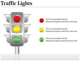 Stoplight Behavior Chart Templates Traffic Signs Chart Powerpoint Ppt Templates Ppt
