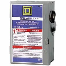 fuse box safety you need to know about upgrading a fuse box Fuse Box Safety Switch square d enclosed safety switch neutral cartridge fuse spa image is loading square d enclosed safety fuse panel safety switch