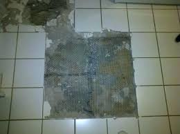 removing ceramic tile glue from plywood remove