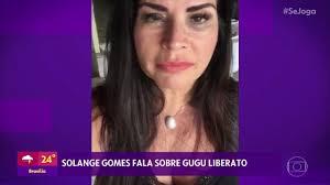 Se Joga | Solange Gomes lamenta a morte de Gugu Liberato