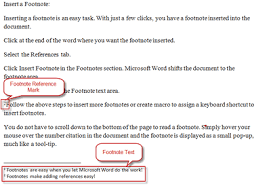 how to use footnotes in research papers footnote parts