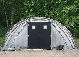 Rapidly deployable hardened shelters
