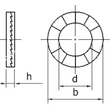 Metric Washer Sizes Chart Washer Dimension Knockknock Com Co