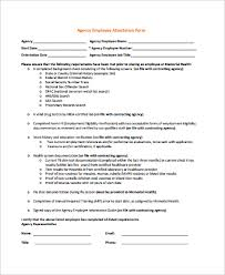 On The Job Training Form New 48 Sample Attestation Forms Sample Templates