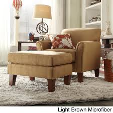 INSPIRE Q Uptown Modern Accent Chair and Ottoman | Overstock Shopping -  Great Deals on