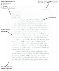 Mla Format For Essay Papers Example Of Format Essay Argumentative ...