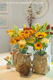 Flower Vase With Paper Easy Paper Bag Vases Town Country Living