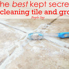 Kitchen Floor Grout Cleaner The Best Kept Secret To Cleaning Tile And Grout Powder Sprays