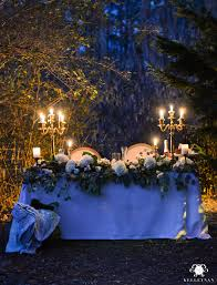 romantic outdoor sweetheart table kelley nan from romantic outdoor lighting on the garden table source
