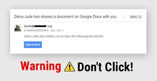 That Click Email Just You Your Don't Warning Google In Link Docs Received