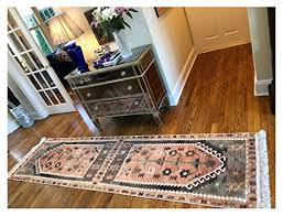 turkish kilim design runner rug for hallway entryway kitchen living room 3 x10 actual 2 6 x10 4 denizli