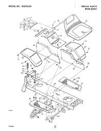 Murray murray yard garden tractors parts model 46209x9b wl000419 00017 1509200html wiring diagram cub cadet 13wx91at056