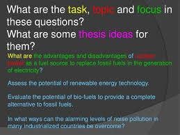 topic focus and thesis 41