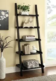 ladder bookcases coaster bookcases cappuccino ladder bookcase with 5  shelves coaster fine furniture ladder bookcases ikea