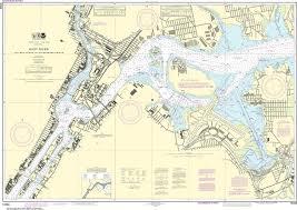 Noaa Nautical Chart 12339 East River Tallman Island To Queensboro Bridge