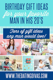 birthday gifts for men in their 20s