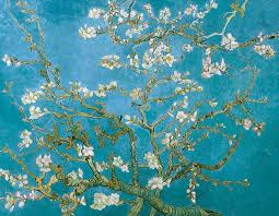 van gogh painting van gogh blossoming almond tree by vincent van gogh