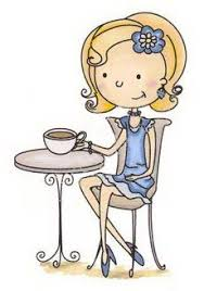 drinking coffee clipart. Brilliant Clipart Having Tea Alone And Wishing So Much That There Was A Friend To Have  Withu2026 Inside Drinking Coffee Clipart