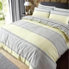 luxury banded stripe grey yellow duvet set reversible quilt cover bedding king size 267315 p5600 15340 image jpg