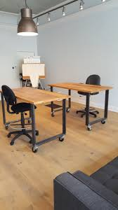 custom office desks. Custom Office Desks By Barnboardstore.com - These Are Two Made With Reclaimed Barn