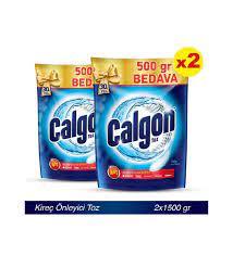 Calgon Çamaşır Makinesi Kir ve Kireç Önleyici 2x1500 gr Toz
