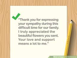 Simple Ways To Respond To Condolences 8 Steps With Pictures