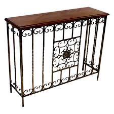 wrought iron side table. Wrought Iron Side Table H