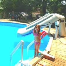 Outdoor pool with slide Small Rustic Backyard Swimming Pool Outdoor Decor Area Decorating Ideas Inflatable Pools Slide Round Above Ground Decks Deavitanet Rustic Backyard Swimming Pool Outdoor Decor Area Decorating Ideas