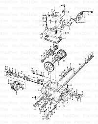 Troy bilt 0360 troy bilt horse rear tine tiller power unit transmission