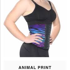 1800cinchers Animal Print Workout Cincher