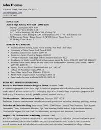 Download 20 Awesome High School Student Resume Examples S Medtechtx