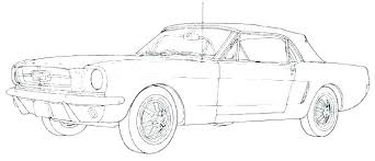 Ford Mustang Coloring Pages Page Old Sheets Car Sheet Color