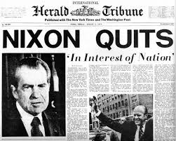 Image result for richard nixon resignation