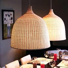 modern country cage rattan pendant light wicker bird nest bamboo lamp shades suspension chandelier lighting new york open box
