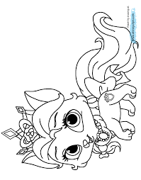 Small Picture Palace Pets Coloring Pages 4 Disney Coloring Book